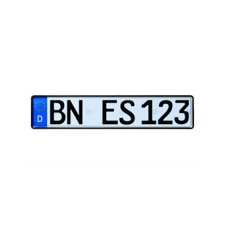 Selbstleuchtendes Eurokennzeichen G-elumic®