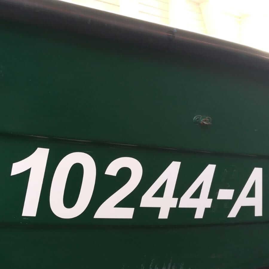 Bootskennzeichen