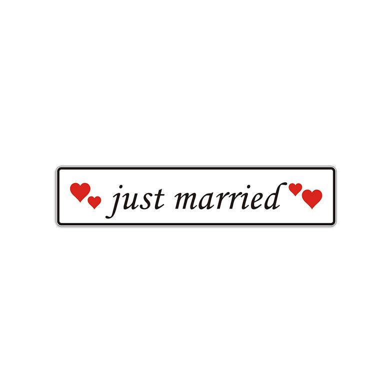 just married Schild Auto