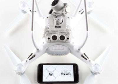 Drohnen-Kennzeichen für DJI Phantom 4