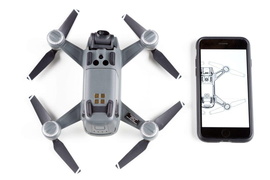 Drohnen-Kennzeichen für DJI Spark