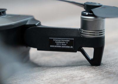 Drohnen-Kennzeichen für DJI Mavic Air