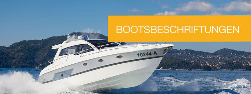 Bootskennzeichen online kaufen