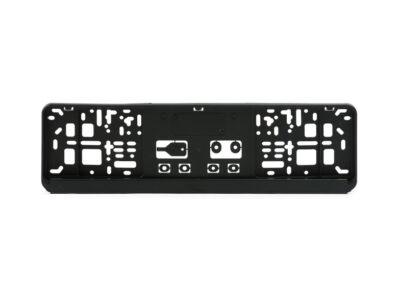 Kennzeichenhalter für verkürzte Kennzeichen (460x110mm)