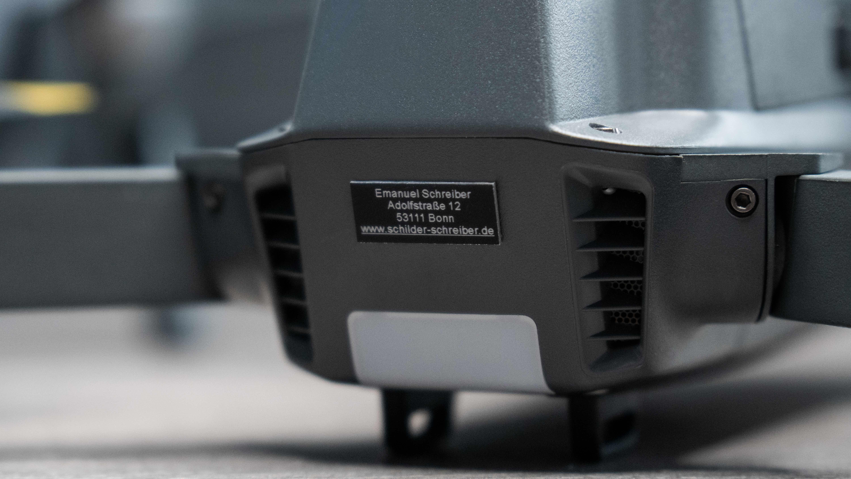 Drohnen-Kennzeichen für DJI Mavic Pro