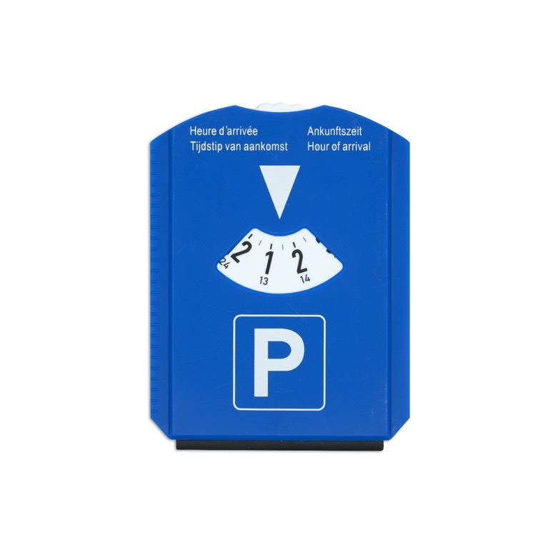 Parkscheibe Kunststoff