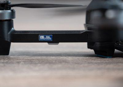 Drohnen-Kennzeichen für Yuneec Mantis G