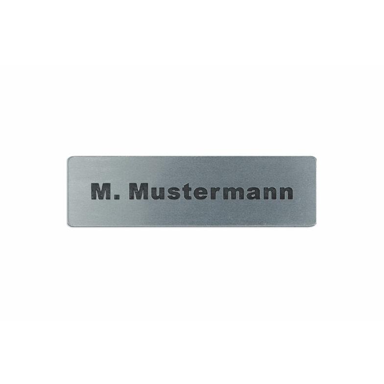 Klingel Schild mit Vor- und Nachname Briefkastenschild Aufkleber