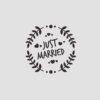 Just Married Stempel Motiv 2 Hochzeitsstempel online kaufen