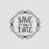 Save the Date Stempel Motiv 3 Hochzeitsstempel online kaufen
