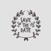 Save the Date Stempel Motiv 2 Hochzeitsstempel online kaufen