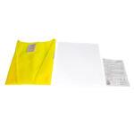 Warnweste Gelb gemäß EN ISO 20471 mit Gebrauchsanleitung