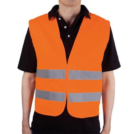 Warnweste Orange gemäß EN ISO 471 DIN EN 471
