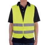 Warnweste Gelb gemäß EN ISO 471 DIN EN 471