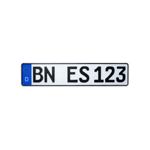 Kfz-Kennzeichen / Nummernschild