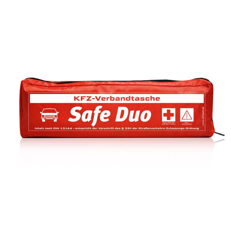 2 in 1 Sicherheitsset Warndreieck + Auto Verbandskasten