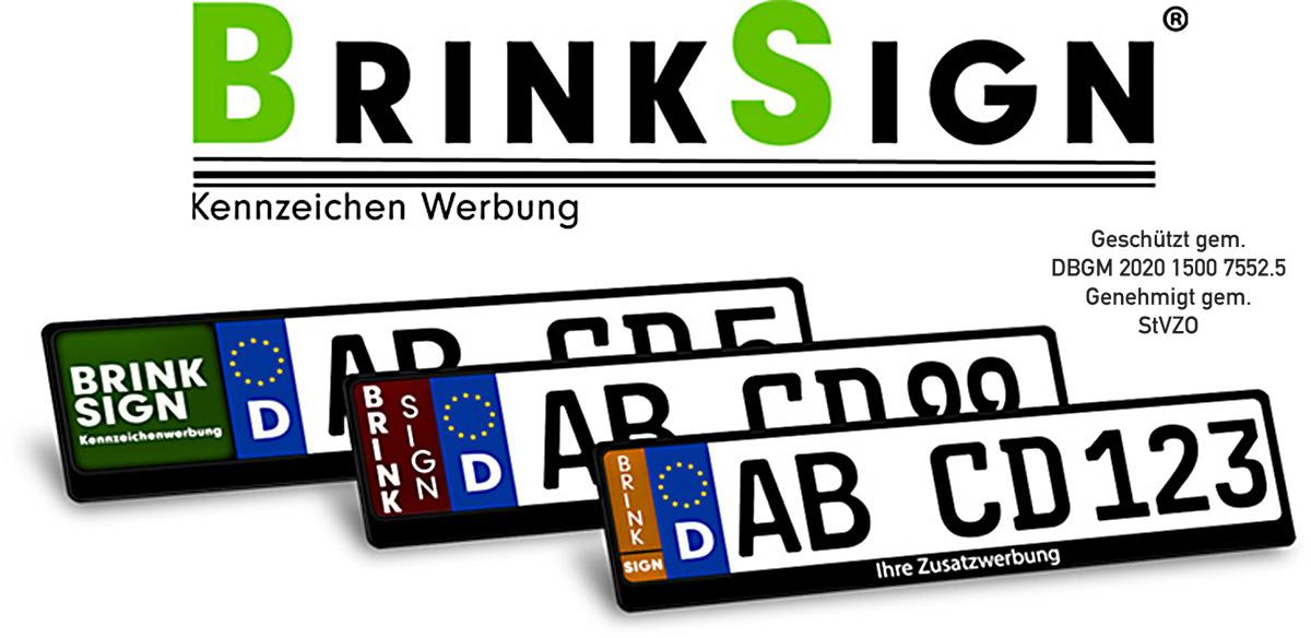 Kennzeichen Werbung BrinkSign