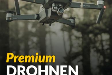 Premium Drohnen Versicherung helden.de