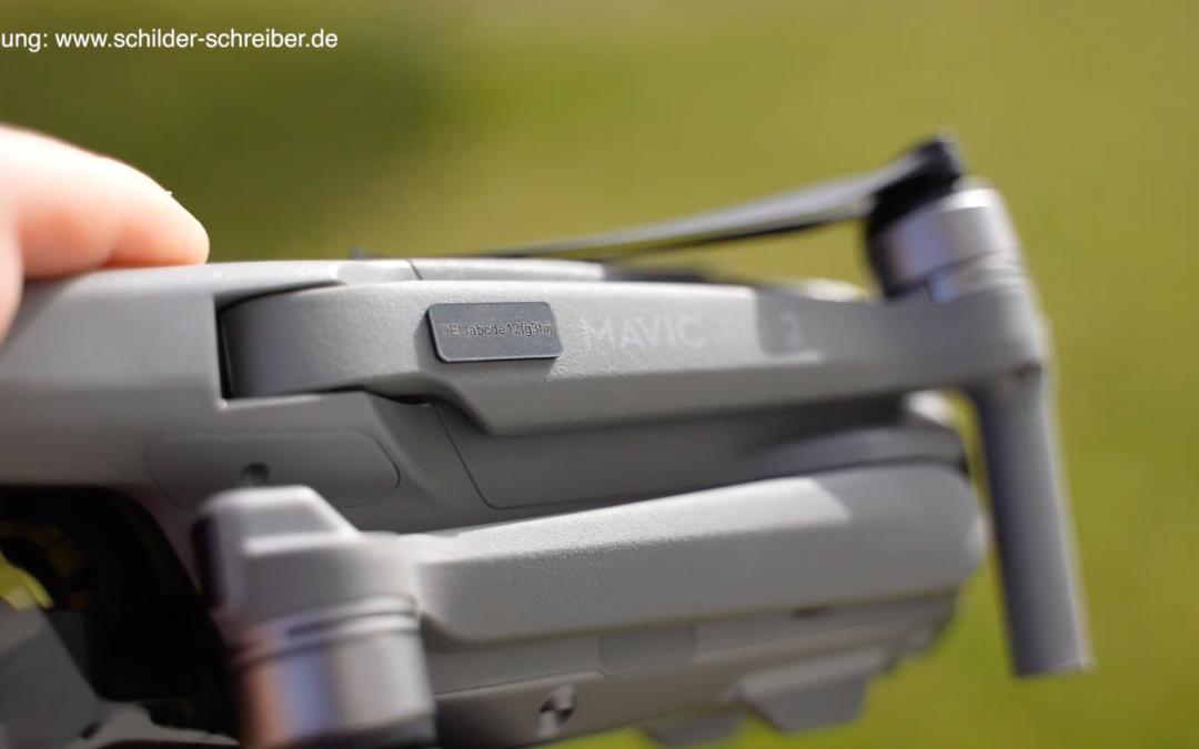 e-ID Plakette: das muss auf die neue Drohnen-Plakette