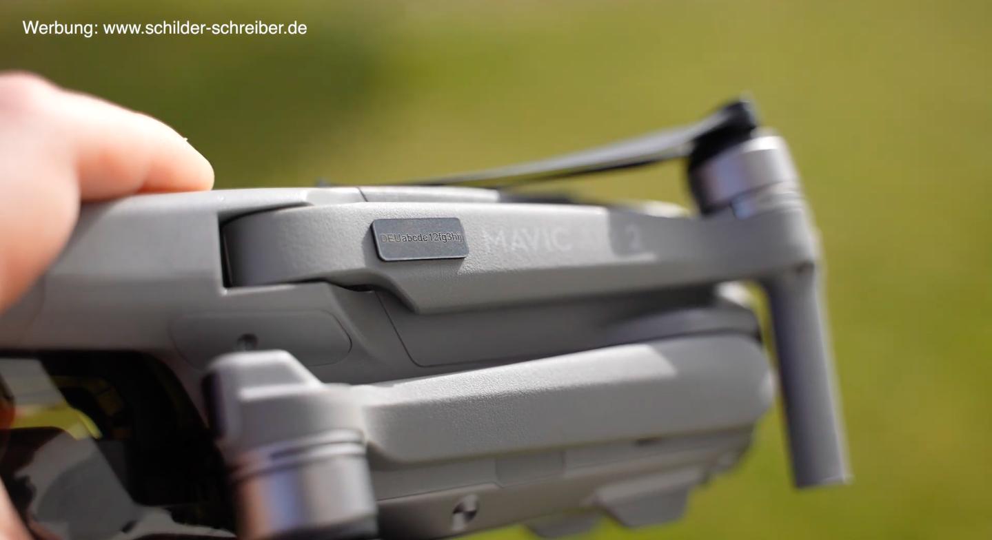 e-ID Plakette EU-Drohnen Gesetze 2021